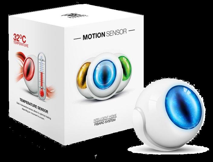 détecteur mouvement, température, luminosité, chocs